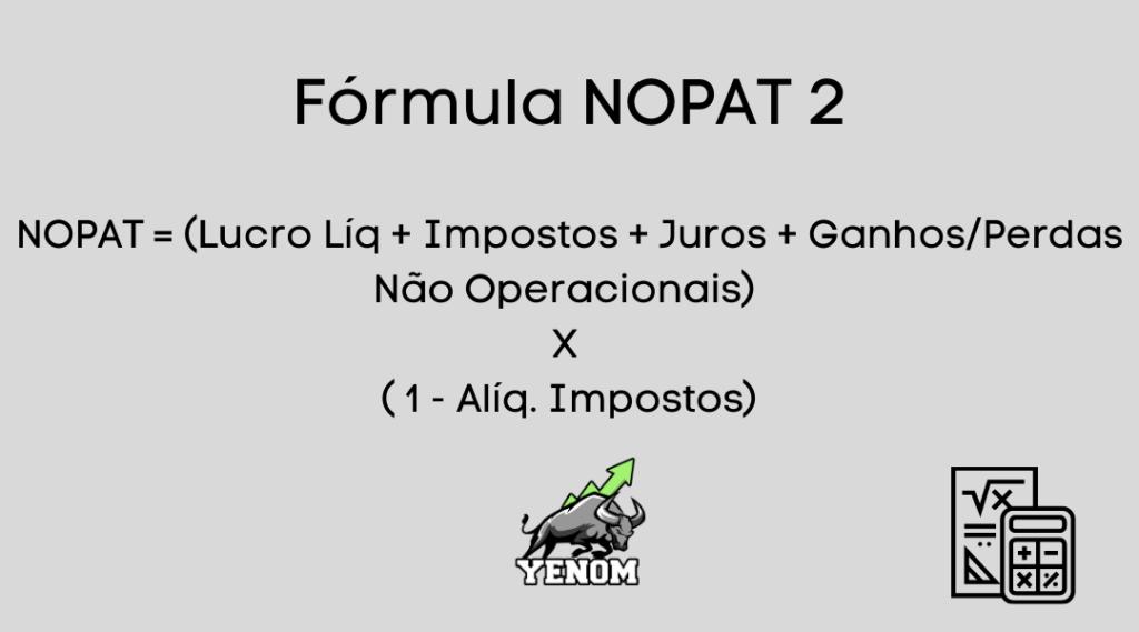 Fórmula NOPAT 2