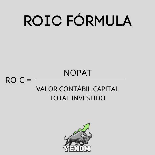 ROIC fórmula